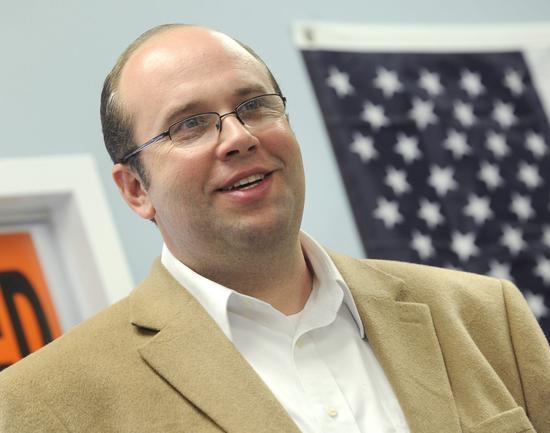 Newly elected U.S. Representative Jason Smith- Photo Fred Lynch Southeast Missourian newspaper